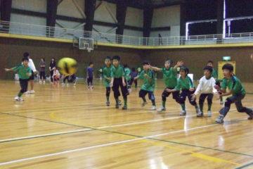 キャッチング練習のAチーム