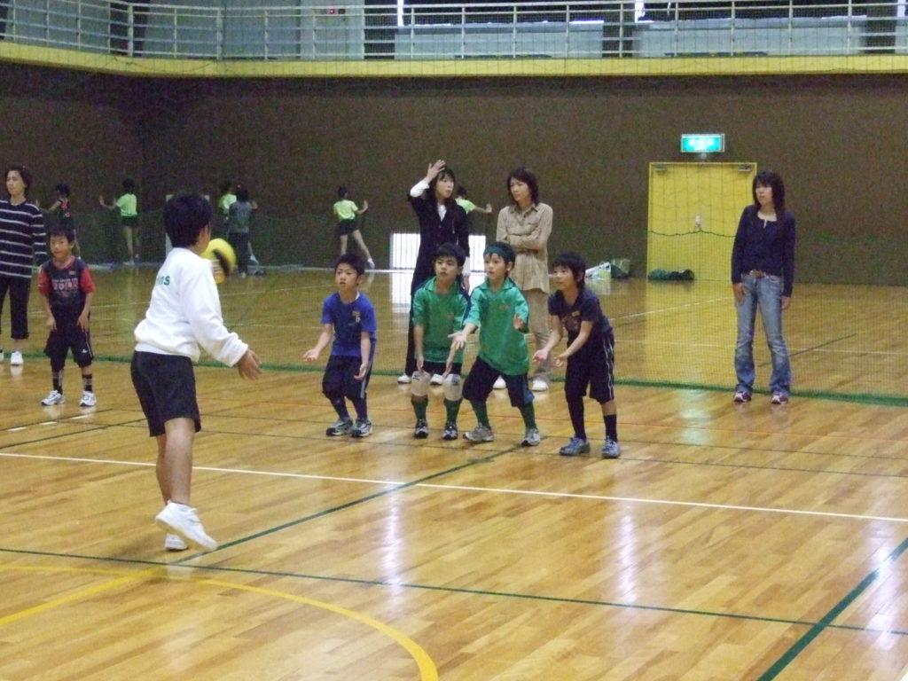 Bチームのコーチは5年生