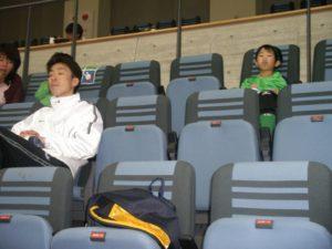 及川コーチはお疲れ?