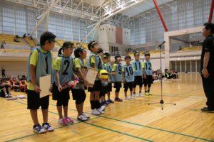 U-10表彰式(写真:県協会)