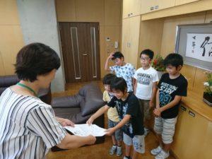 西田地方小1学期報告会(7月19日)