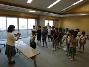 光陽小1学期報告会(7月18日)